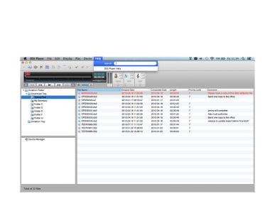 MAC için DSS Player , Olympus, Transcription Software